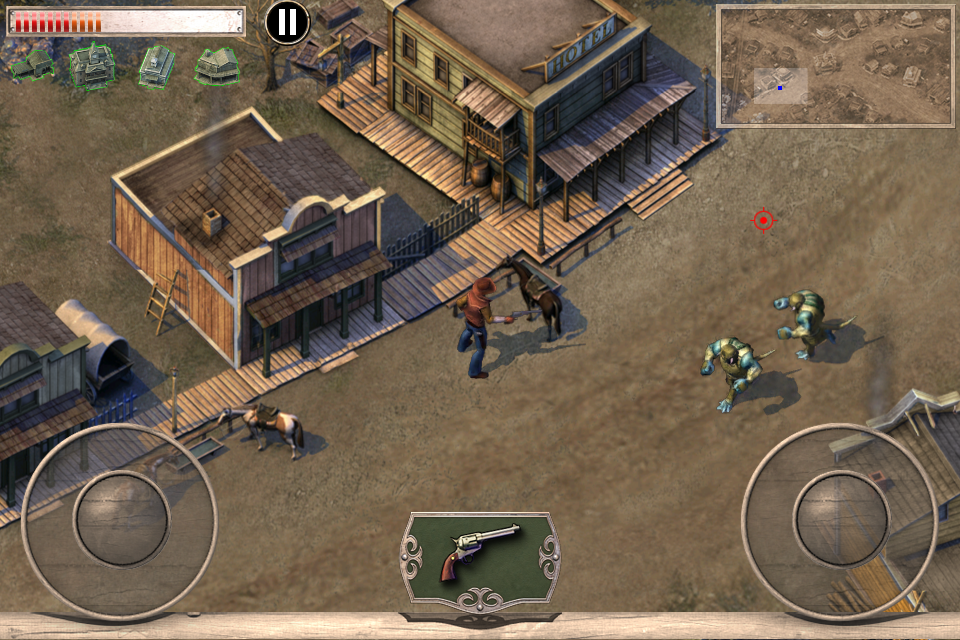 Screenshot Cowboys & Aliens LITE